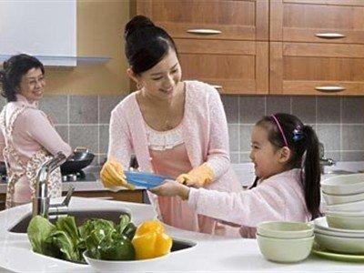 培养孩子责任感从做家务开始