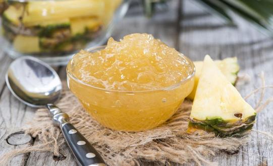超好吃的自制儿童版菠萝果酱