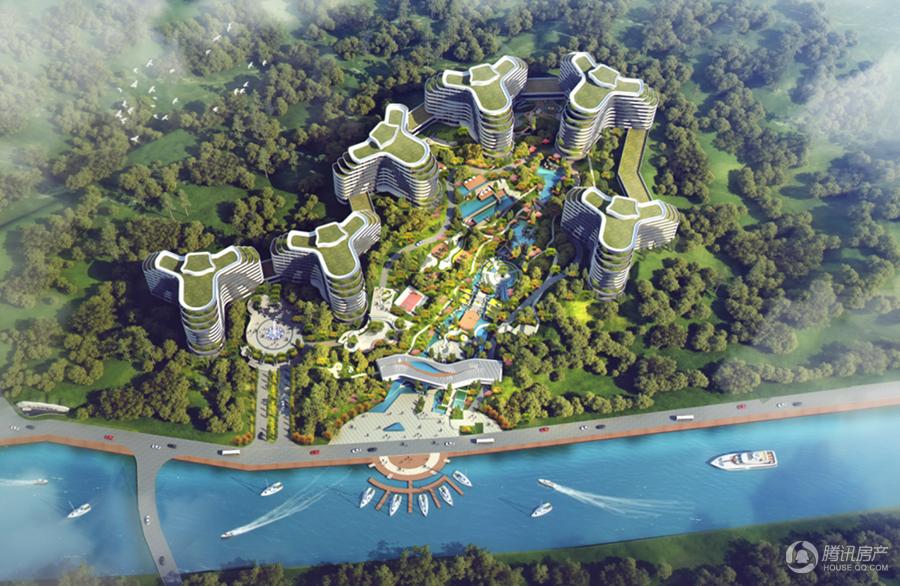 未来金融港效果图