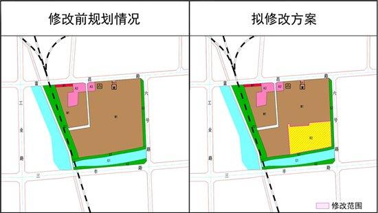 保定市西南部地块规划修改 主城区增加一块住宅用地