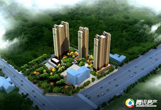 香溪名门售楼部盛大开业 植物园旁公园美宅正式面市