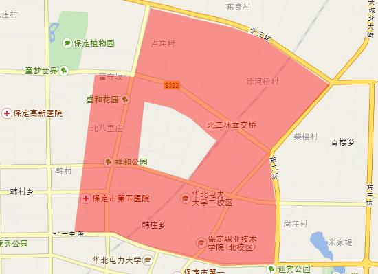 保定地图初中的5所房价口碑最好邯郸市初中部教育局图片