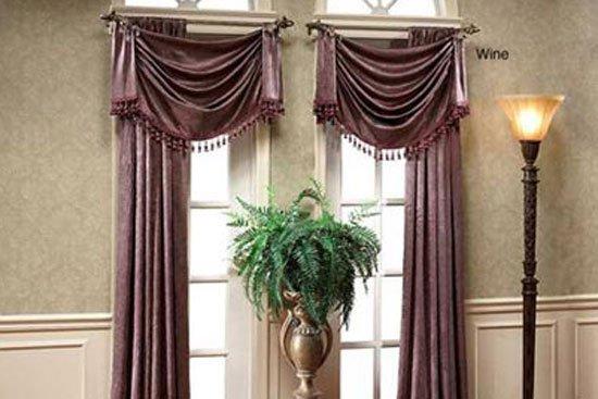 现代欧式风格窗帘装饰详谈图片