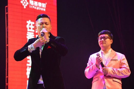 全才演员侯林林,刘涛相声《吉祥祝福》图片