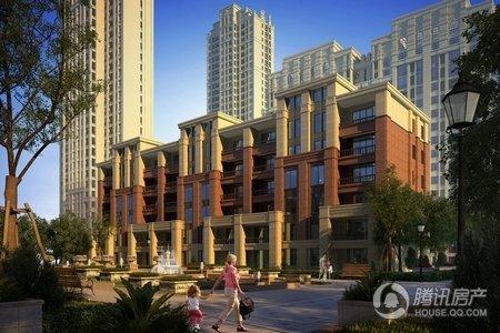 未来城采用法式新古典主义建筑风格,此类建筑特点为:线条鲜明凹凸有图片