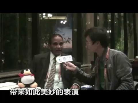 视频特辑:绝对巨星 维拉潘谈中国足球前景
