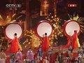 视频:2011年央视春晚新年倒计时 吉祥鼓迎新