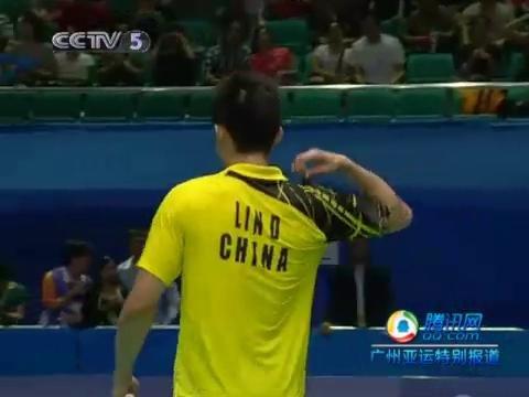 视频策划:羽球男团半决赛 林丹2-0胜陶菲克