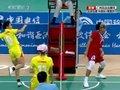 女子藤球决赛精彩回放 中国队21-16不敌泰国