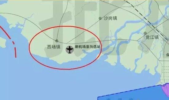 在网络上看到一则消息称北海的福城机场要迁建了,将落户合浦县西场镇.图片