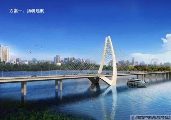北海冯家江大桥完成30根桩基建设 预计2019年完工