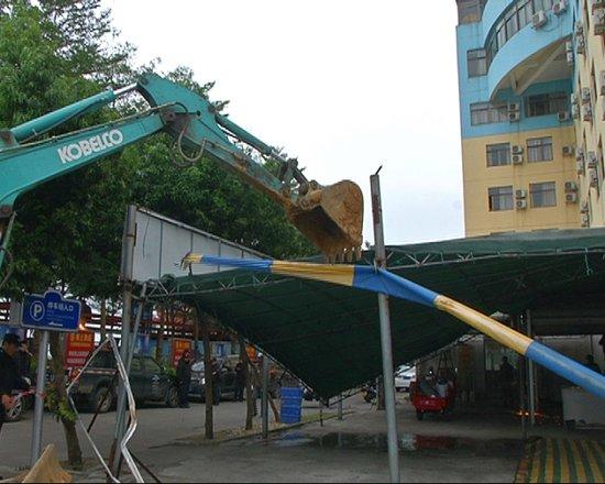 北海北岸的�@些�`章建筑,被拆除了,回���M�M