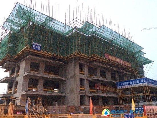和顺名都城6月工程进度 1-4#楼即将封顶