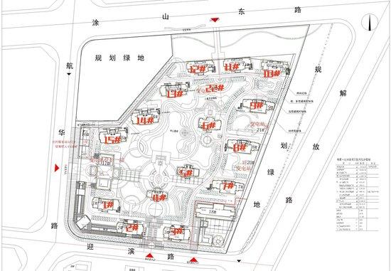 和顺沁园春:项目规划公示 建面26万㎡ 套数1554户
