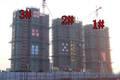【东菱城市新地】11月工程进度:沿街1-3#楼封顶