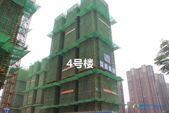 和顺名都城7月工程进度 多栋楼已建至25层 施工加快