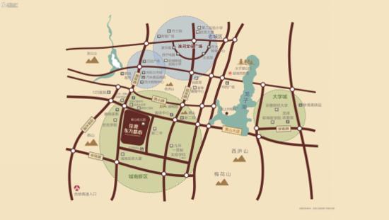 佳源东方都市  繁华都市的典范之作