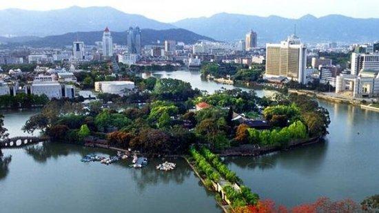 蚌埠张公湖风景区