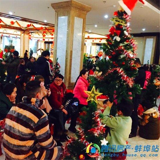 佳源东方都市 圣诞树DIY欢乐上演
