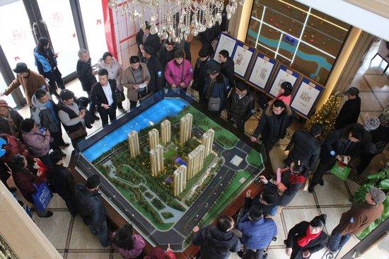 """""""人在他乡家在蚌埠""""腾讯千人看房团完美收官"""
