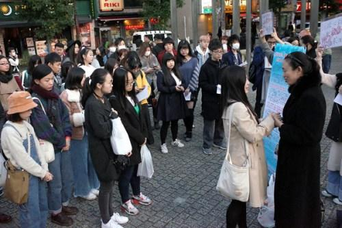 江歌案庭审临近 在日华人请愿签名为江母打气
