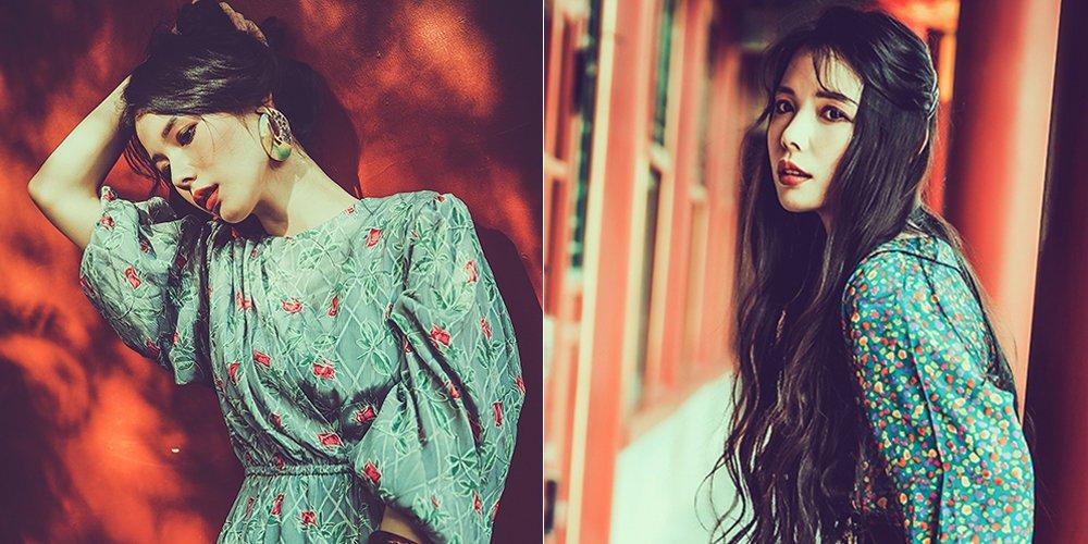 颐和园里的神秘女孩 红墙树影中显风情万种