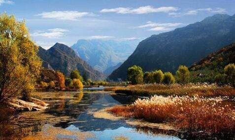 赏秋叶:北京西山永定河15处彩叶观赏点迎客