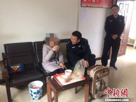 开学季13岁女孩离家出走 陕西安康铁警及时劝阻