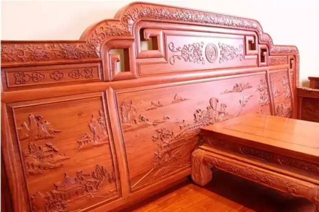 红木家具该不该用胶家具华辰洛阳市办公有限公司图片