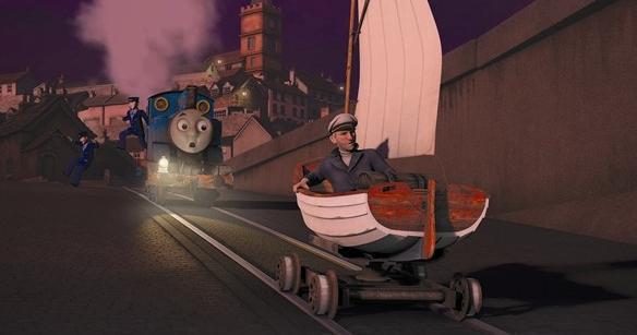 托马斯小火车 手绘