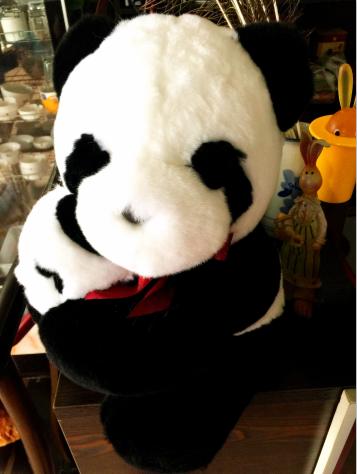 亲子熊猫——谷氏獭兔