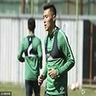 国安训练杨智秀球技 索里亚诺外表冷酷