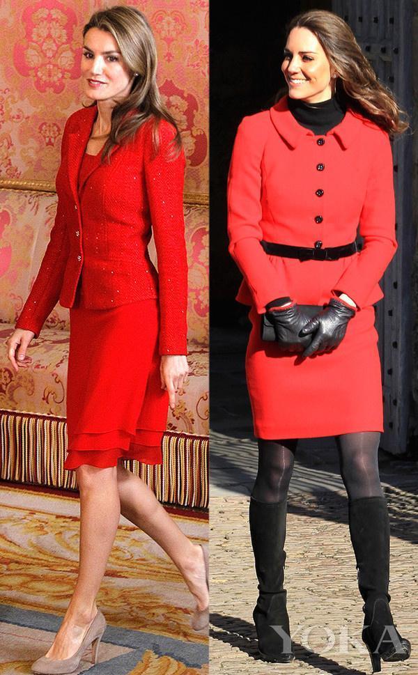 王室风云:两国王妃形如twins?还不是被你们比来比去