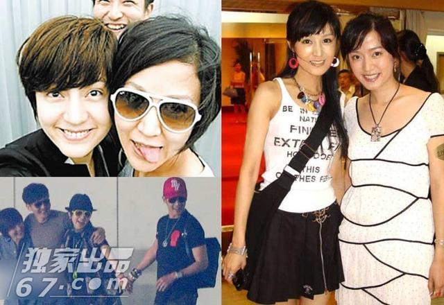 网络上也有多张孙燕姿和妹妹一起合影的生活照,更有消息称两姐妹太过图片