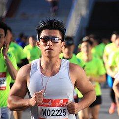 实拍北京长跑节选手风采