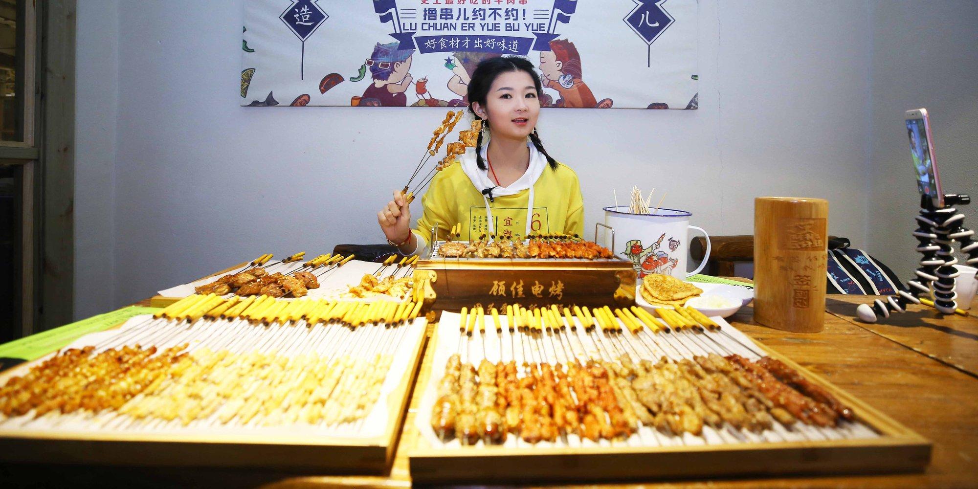 【燕女郎】45公斤美女大胃王:月入过万只够吃饭