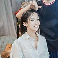 实拍北京美女演员试戏过程