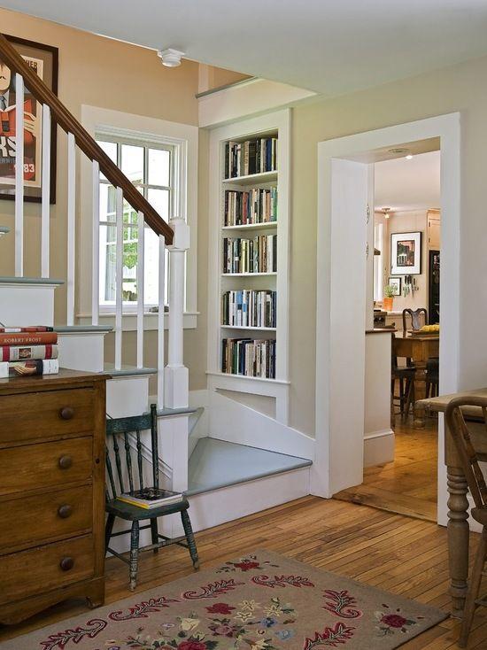见缝插针的书架 9个阅读区的无限可能!