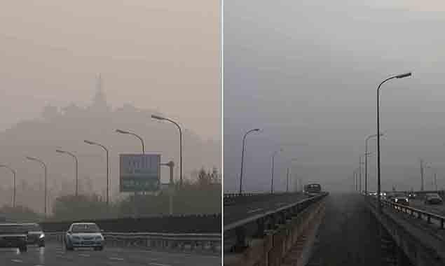 北京大雾橙色预警 出行注意交通安全