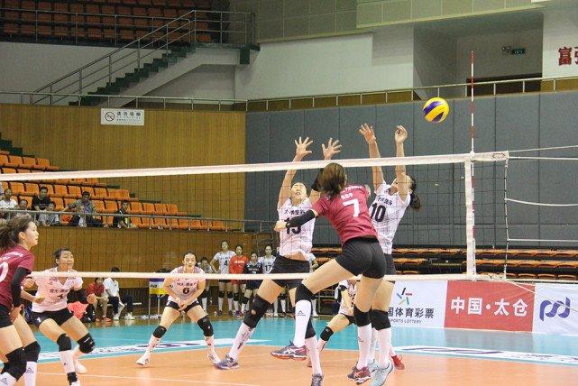 全国女子排球冠军赛1/4决赛 北京队无缘四强