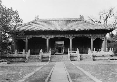去寿皇殿感受一次历史的气息