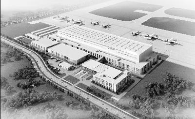 南航将在新机场投放250架飞机 基地分为五大功能区