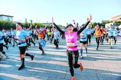 两万余跑友参与北京国际长跑节