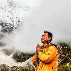 在海拔5000米冰川拍雪景啥感觉?