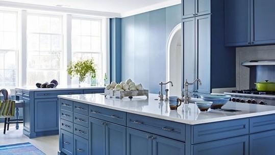 曼妙蓝色异想世界,复式空间拥抱蔚蓝!