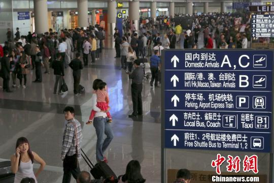 首都机场实施144小时过境免签政策