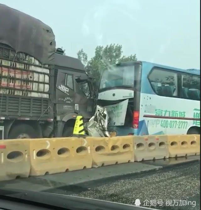 京哈高速现惨烈车祸 3人死亡5车受损