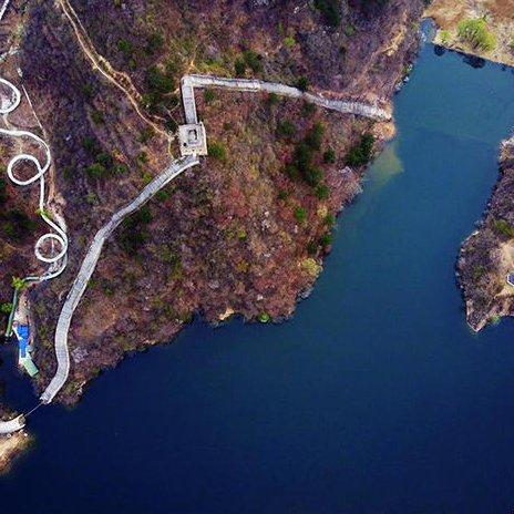 """在北京有条""""圈圈""""山路 堪比川藏公路"""
