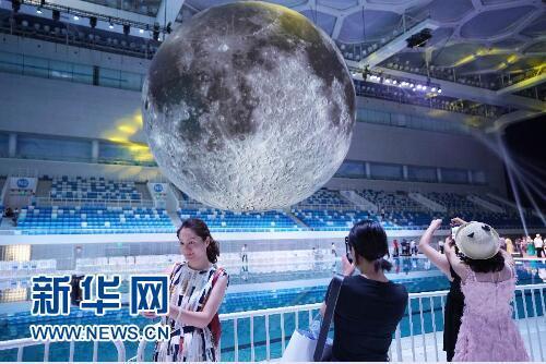 """中国探月科技与""""月球博物馆""""特展在京举行"""