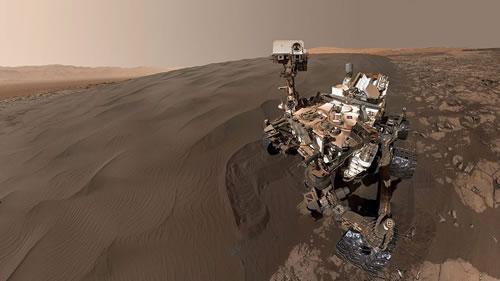 科学家在火星发现独特沙波纹